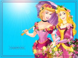 Sleeping Beauty and Cinderella WallpaperDisney Princess Wallpaper 1546