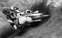 Dirt Bikes black and white wallpapers 595