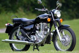 Online Wallpapers Shop: Royal Enfield Bullet Motorcycle Pictures 619