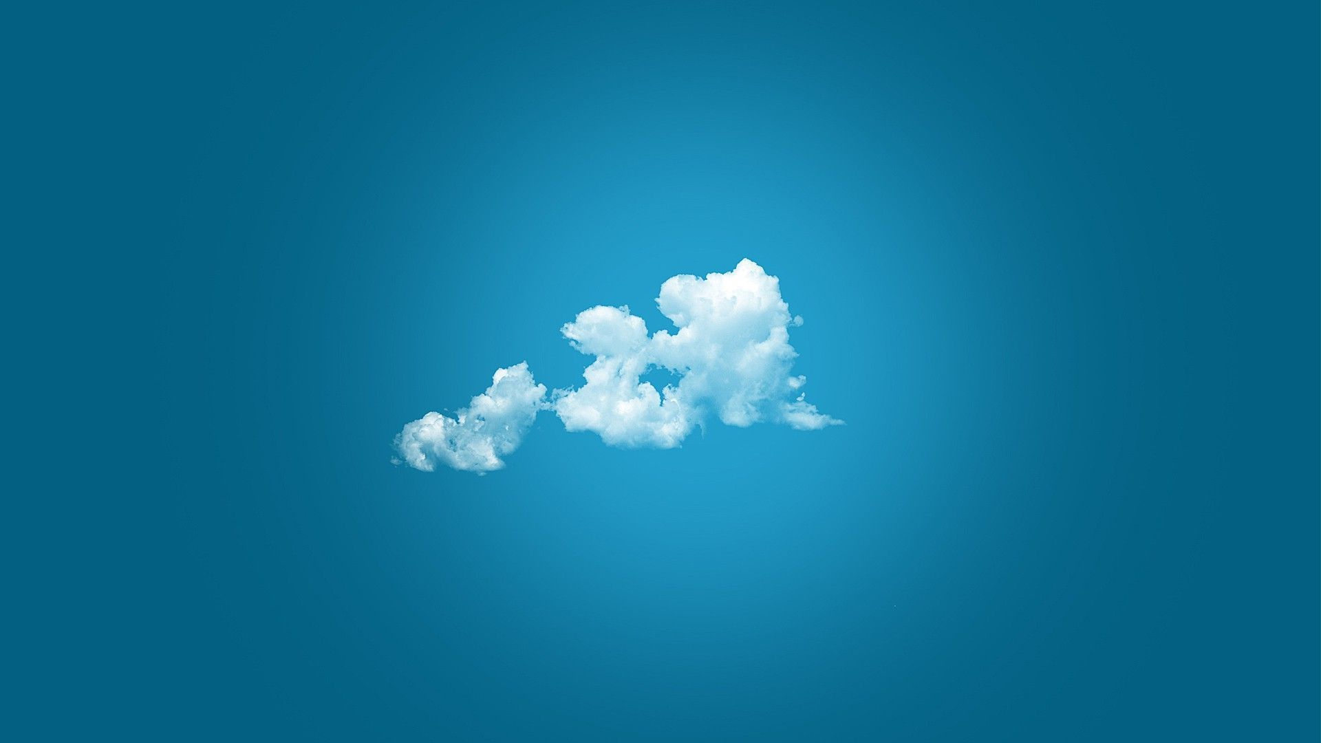 White fluffy cloud Wallpaper #4682 1287