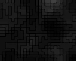 Black pattern squares wallpaper 206