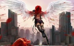 blood girl women cities wallpaper | 1920x1200 | 31065 | WallpaperUP 1806