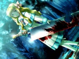 Bloody Anime Girl wallpaperForWallpaper com 142