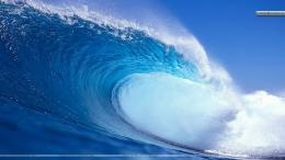 Blue Water Waves Wallpaper 1213