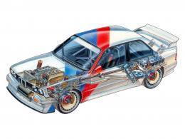 BMW M3 Group A DTME30race racing m 3 interior engine f wallpaper 1461