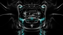 BMW M3 Engine Azure Smoke Car 2014 HD Wallpapers design by Tony Kokhan 1965