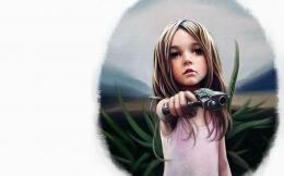books weapon gun pistol sad sorrow dark spooky wallpaper background 1429