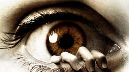 digital art manip eye dark horror hand mood evil wallpaper background 266