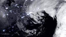 NASA and NOAA Satellites Image Crippling Blizzard of 2015 Pounding New 661