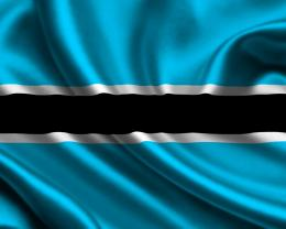 Botswana flag wallpaper 1178