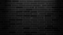 Black brick wall wallpaper #18482 1727