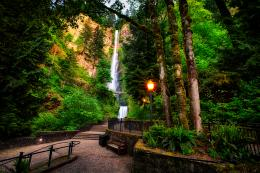 Multnomah Falls, Oregon 1354