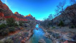Fantastic River In A Canyon Hd Wallpaper | Wallpaper List 1814