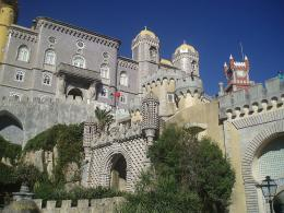 Castelo Da Pena In Sintra Portugal Wallpapers Pictures 1697