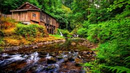 Cedar Creek Grist Mill Desktop Background 58461 : Wallpapers13 com 1611