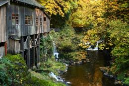 PanoramioPhoto of Cedar Creek Grist Mill at Etna, WA 129