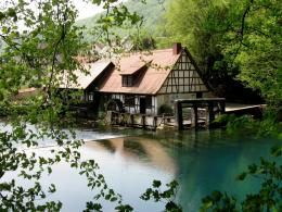 Cedar Creek Grist Mill In Washington 1252