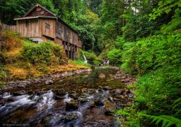 Download wallpaper Cedar Creek Grist Mill, Woodland, Washington 283