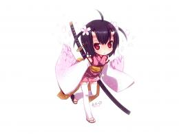 Japanese Wallpaper 1600x1200 Chibi, Japanese, Clothes, Anime, Girls 1899