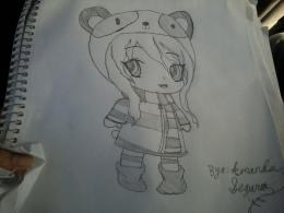 Chibi panda girl drawing by nightangel5431 on DeviantArt 451