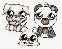 Chibi Animals by opalnova3 on DeviantArt 135