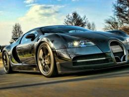 Chrome Bugatti Veyron Mansory wallpaper in CarsVehicles wallpapers 1799