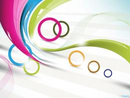 Abstract Circles Colors Wallpaper, Beautiful Abstract Circles 787