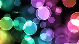 Wallpaper 1920x1080 Abstract, Background, Colorful, Circles, Green 1969