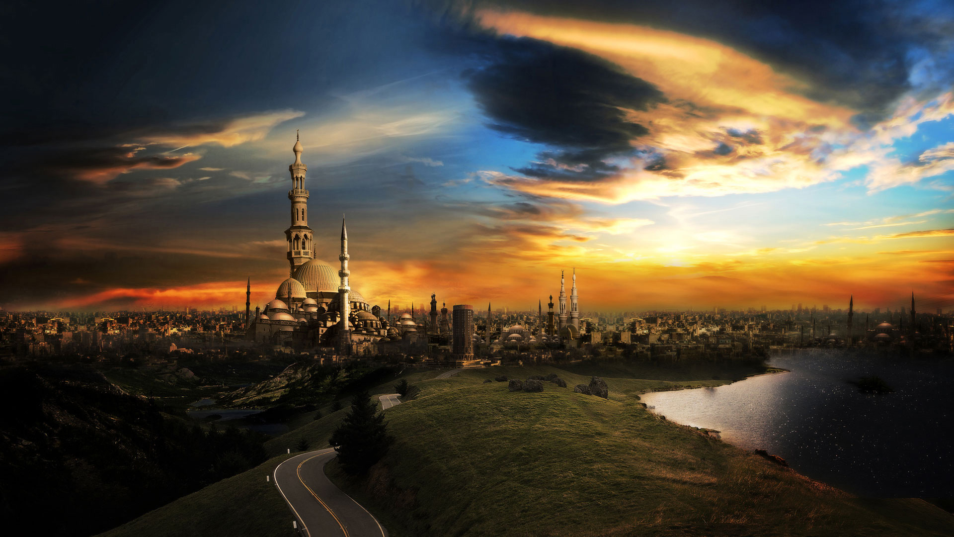 The City of a Thousand Minarets Wallpapers | HD Wallpapers 1677