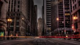 City Street in long exposure Hdr wallpaper 1057