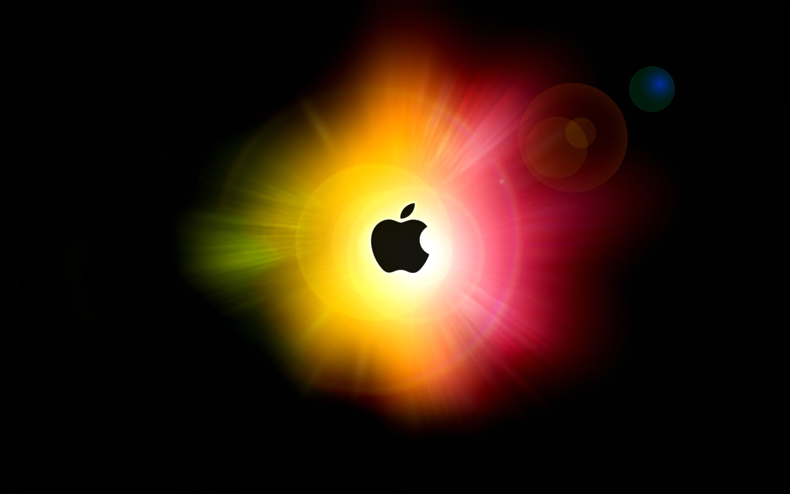 Colorful Apple Wallpaper 2560x1600 Colorful, Apple, Inc, Logos 588