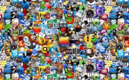 Apple Icons, Logo, Colorful, Wallpaper, Computer | Free HD wallpapers 1724