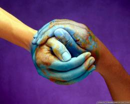 Hands Peace Day Colorful Wallpaper123mobileWallpapers com 1878