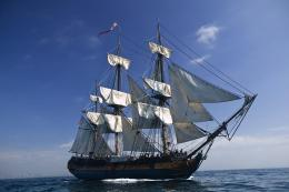 warship: HMS Surprise Sailing Ship wallpapers 844
