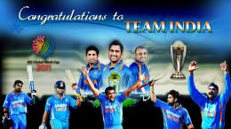 Great Moment of Indian cricket team 2011 World Cup HD Wallpapers 318