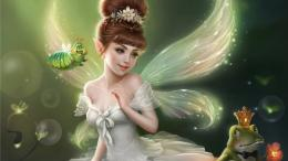 Mystery Wallpaper: Little Fairy 1536