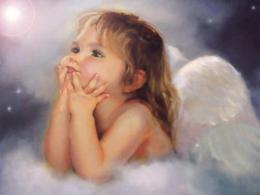 Cute Baby Angel Wallpaper Fantasy | Free Wallpapers 1267