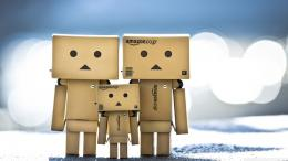 Mystery Wallpaper: Danbo Family 1807