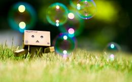 Danbo With Balloon Wallpaper Wallpaper | WallpaperLepi 1395