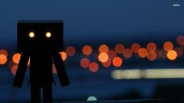 Danbo at night wallpaper 1280x800 Danbo at night wallpaper 1366x768 883