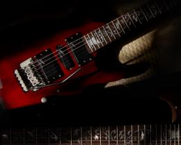 Guitar wallpaper, Shine sil62 electric guitar 770