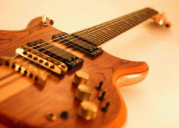 Guitar WallpaperElectric Guitar with Wooden Body1050x750 757