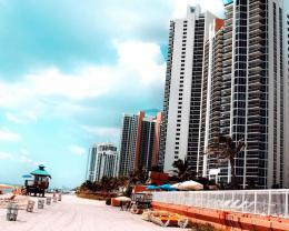 Building On Miami Beach Hd Wallpaper | Wallpaper List 1211