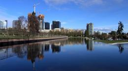 Building Reflection In Young City Hd Wallpaper | Wallpaper List 1492