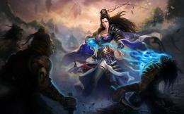 Fantasy Girl Blue Jade Dynasty Dress Game hd wallpaper #1497072 838