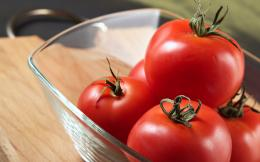 vegetables, tomato, fresh, macro, glass bowl, diet, hd wallpaper 1048
