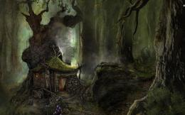 tree house abstract fantasy 1440x900 hd wallpaper 1694490 jpg 816