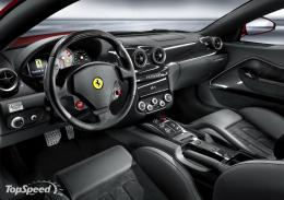 Cool Cars: Ferrari 599 GTB Fiorano Interior Pictures 1833