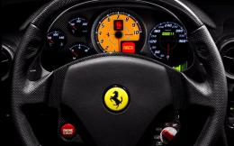 Ferrari F430 Scuderia interior wallpaper #12656 1351