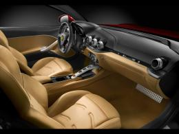 2012 Ferrari F12 Berlinetta Interior desktop PC and Mac wallpaper 1821